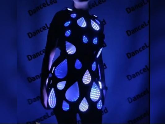 Пиксельное платье Капля бесконечности